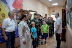 Встреча с православными витязями из Чкаловска.