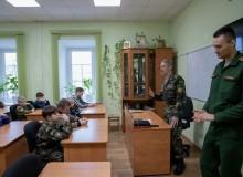 29 декабря 2019 Встреча с курсантом военного института Чураевым Ильей.