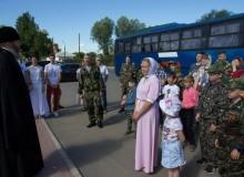 Паломническая поездка православных витязей по Выксунской епархии.