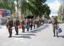 9 августа 2018 Военно-спортивные сборы