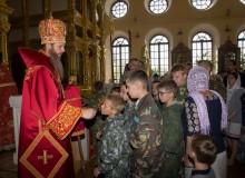 Благословение архипастыря на начало сборов Рязань 2016