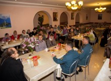 Встреча Архипастыря с родителями православных витязей.